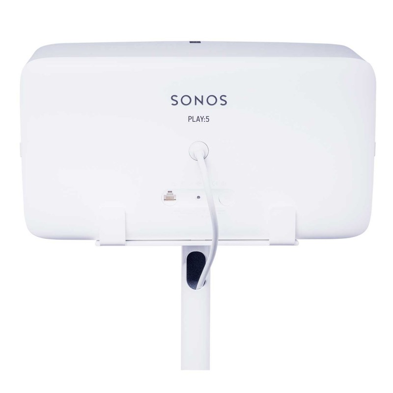 vebos floor stand sonos play 5 white the floor stand for. Black Bedroom Furniture Sets. Home Design Ideas