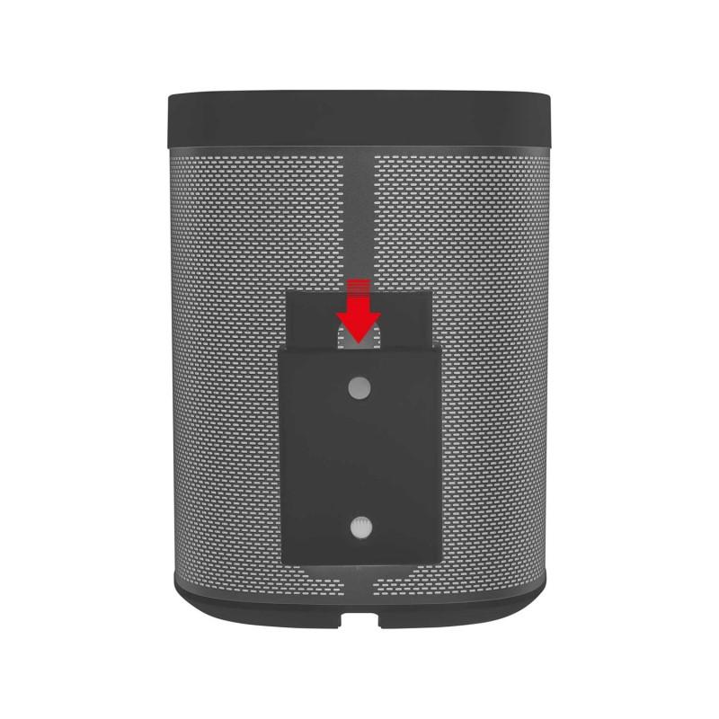 Vebos Portable Wall Mount Sonos Play 1 Black The
