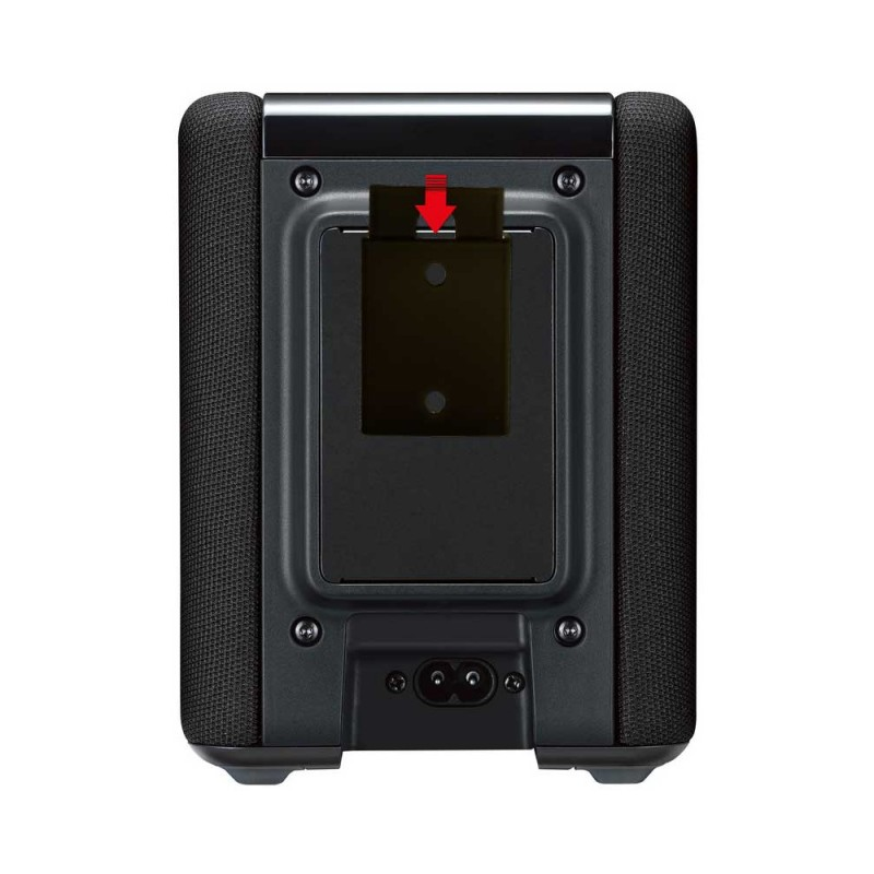 vebos portable wall mount yamaha musiccast wx 010 black. Black Bedroom Furniture Sets. Home Design Ideas