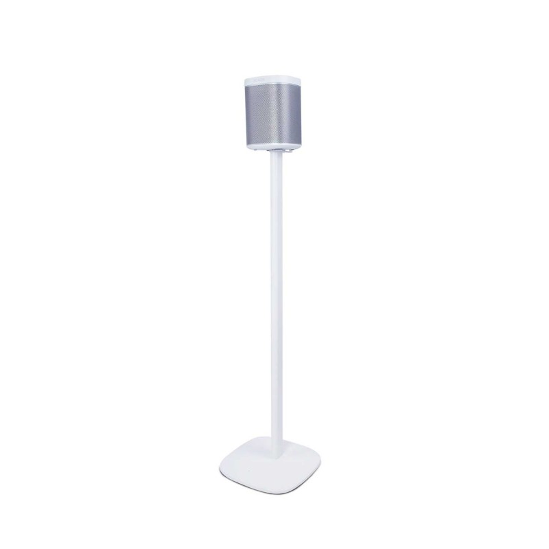 vebos floor stand sonos play 1 white the floor stand for sonos play 1. Black Bedroom Furniture Sets. Home Design Ideas