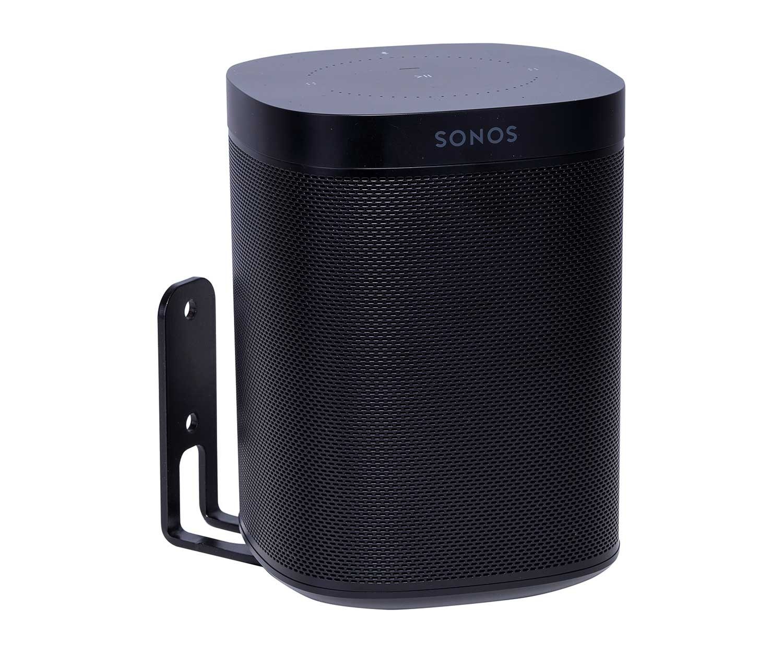 Wall Mount Sonos One Black