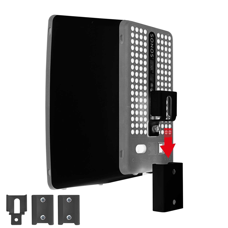 Vebos portable wall mount Sonos Play 3 black | The flexible hanging ...
