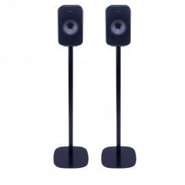 Vebos floor stand KEF LSX black set