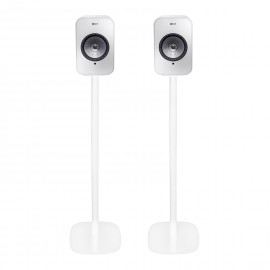 Vebos floor stand KEF LSX white set