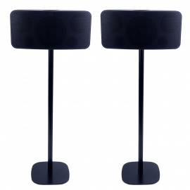 Vebos floor stand Bluesound Pulse 2 black set