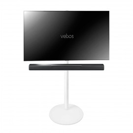Vebos tv floor stand Yamaha Musiccast Bar 400 white
