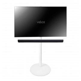 Vebos tv floor stand Yamaha YAS 109 Sound Bar white