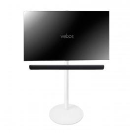 Vebos tv floor stand Yamaha YAS 209 Sound Bar white