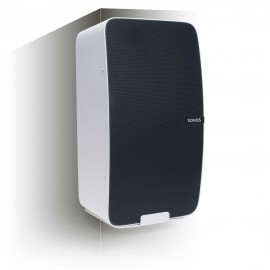 Vebos corner wall mount Sonos Play 5 gen 2 white - vertical