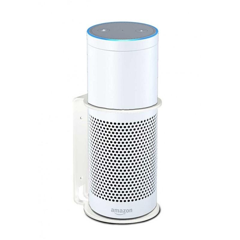 Vebos wall mount Amazon Echo Plus white