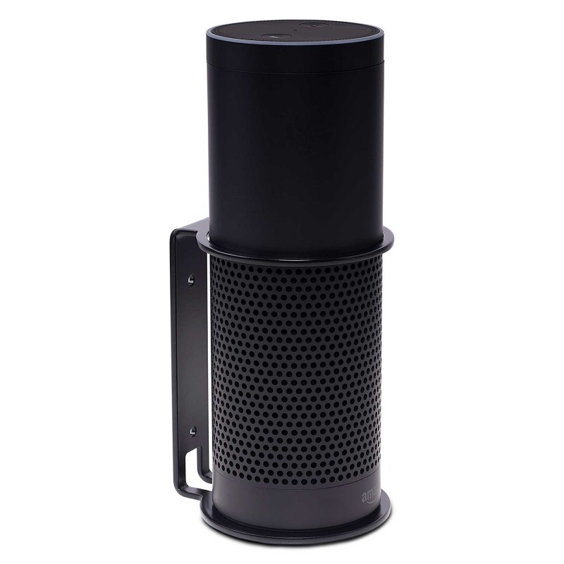 Vebos wall mount Amazon Echo Plus black