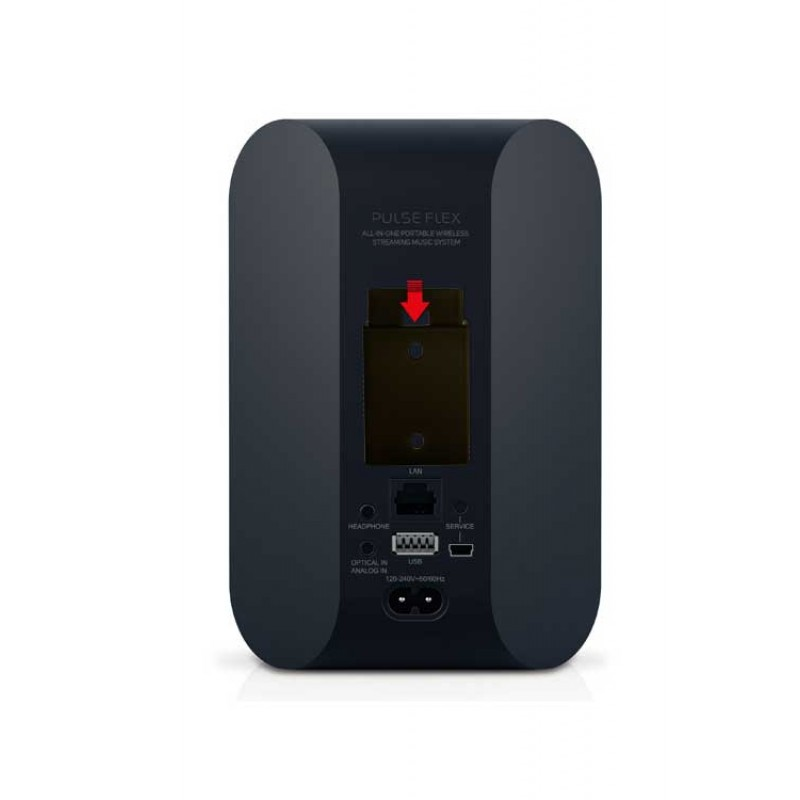 Vebos portable wall mount Bluesound Pulse Flex black