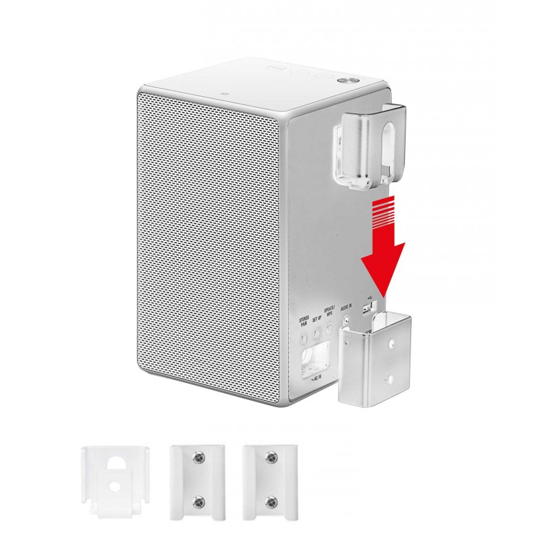 Vebos portable wall mount Sony SRS-ZR5 white