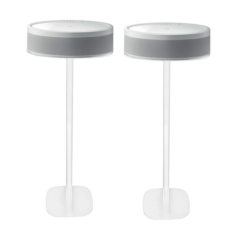 Vebos floor stand Yamaha Musiccast 50 white set