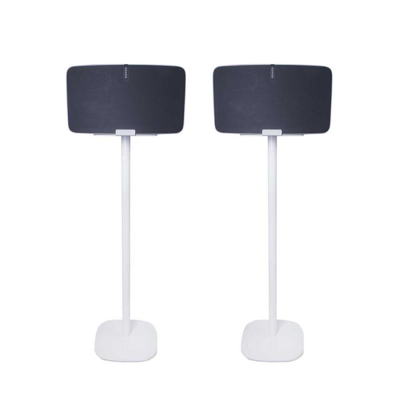 Vebos floor stand Sonos Play 5 gen 2 white set