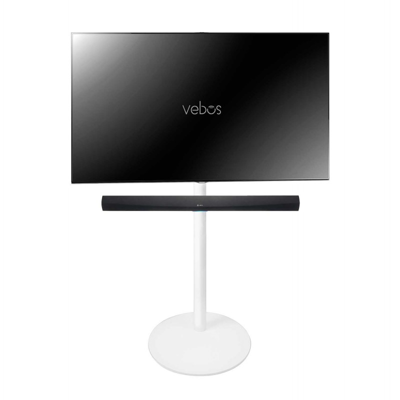 Vebos tv floor stand Denon HEOS Home Cinema Soundbar white