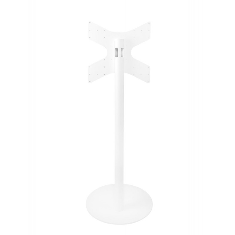 Vebos tv floor stand white