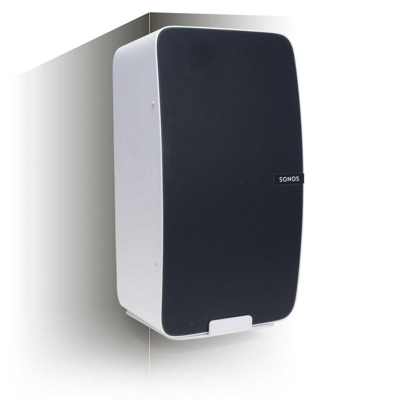 Vebos corner wall mount Sonos Play 5 gen 2 white - vertical