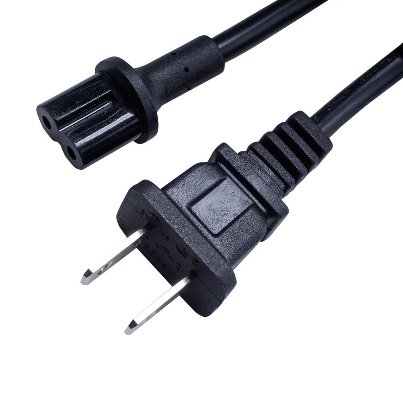 Power cable Sonos Play 5 black 196 inch/5 m cable US plug
