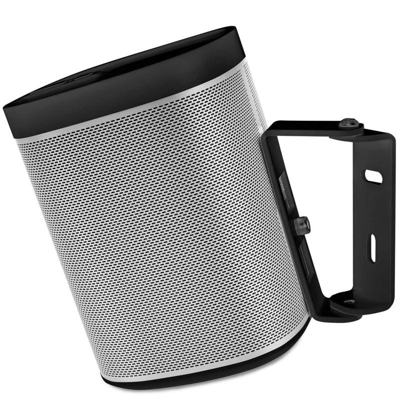 Wall mount Sonos Play 1 black 15 degrees